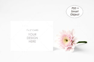 7″ X 5″ Card Mockup Graphic Product Mockups By thesundaychic