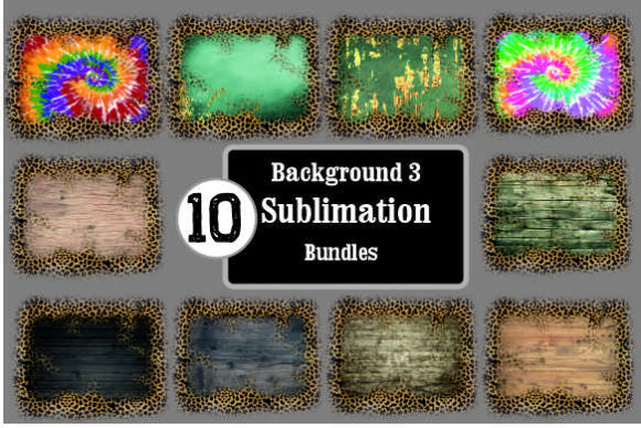 Background Sublimation Bundles3 Graphic Backgrounds By DenizDesign