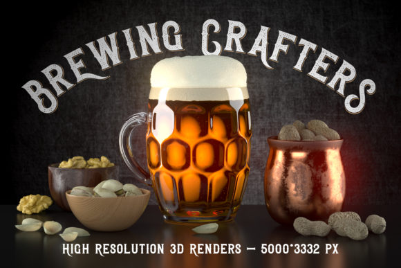 Brewing Crafters Font Preview