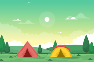 Camping Adventure Outdoor Park Summer Graphic Illustrations By jongcreative