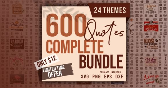 Print on Demand: Complete Quotes Bundle  By Universtock