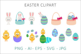 Print on Demand: Easter Bunny Graphics Graphic Illustrations By AS Digitale