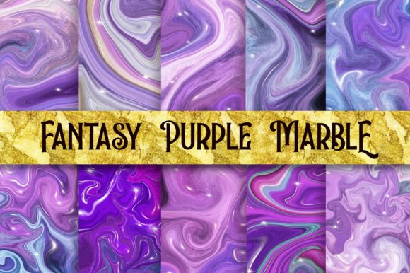 Fantasy Purple Marble Background Graphic Backgrounds By PinkPearly