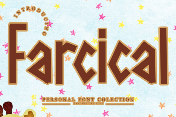 Print on Demand: Farcical Display Font By dazzlinggleam