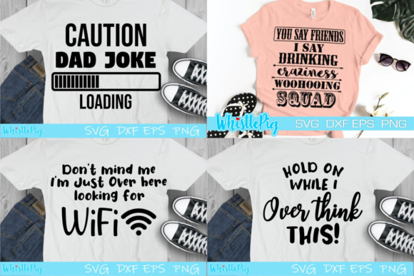 Funny Adult Sarcasm Bundle Graphic Preview