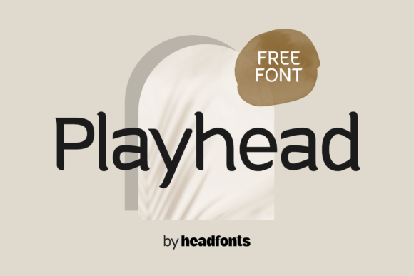 Print on Demand: Playhead Display Font By Headfonts