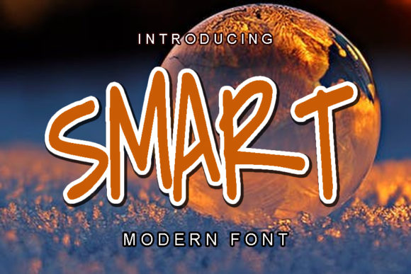 Print on Demand: Smart Display Font By ABBAsalam