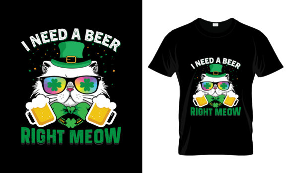 Print on Demand: St Patrick's Day T Shirt Design 133 Gráfico Plantillas para Impresión Por merchbundle