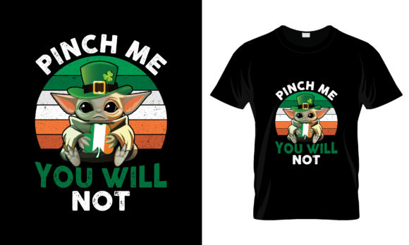 Print on Demand: St Patrick's Day T Shirt Design 136 Graphic Print Templates By merchbundle