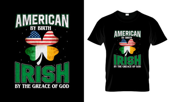 Print on Demand: St Patrick's Day T Shirt Design 140 Graphic Print Templates By merchbundle