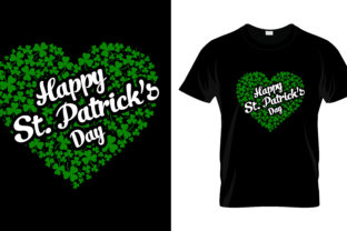 Print on Demand: St Patrick's Day T Shirt Design 162 Graphic Print Templates By merchbundle