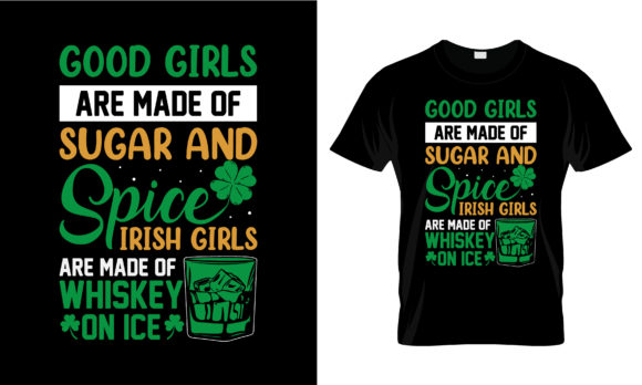 Print on Demand: St Patrick's Day T Shirt Design 244 Graphic Print Templates By merchbundle
