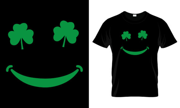 Print on Demand: St Patrick's Day T Shirt Design 254 Graphic Print Templates By merchbundle