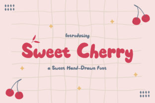 Print on Demand: Sweet Cherry Script & Handwritten Font By TypeFactory