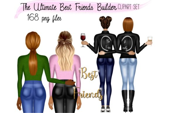The Ultimate Best Friends Builder Graphic Illustrations By elevenbyme