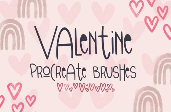 Valentine Procreate Brushes Graphic Brushes By Firefly Designs