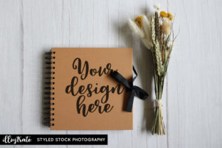 Print on Demand: Wedding Album Mockup | Styled Photo Graphic Product Mockups By illuztrate