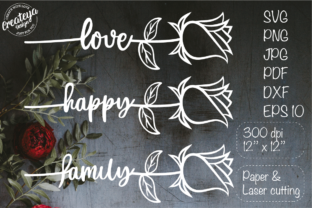 Wedding, Rose SVG, Valentine, Love SVG Grafik Plotterdateien von Createya Design