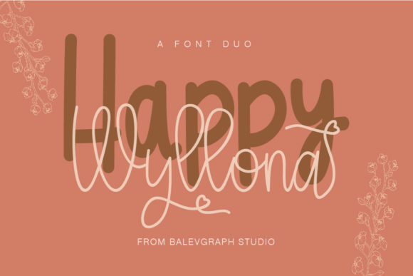 Print on Demand: Wyllona Script & Handwritten Font By Balevgraph Studio
