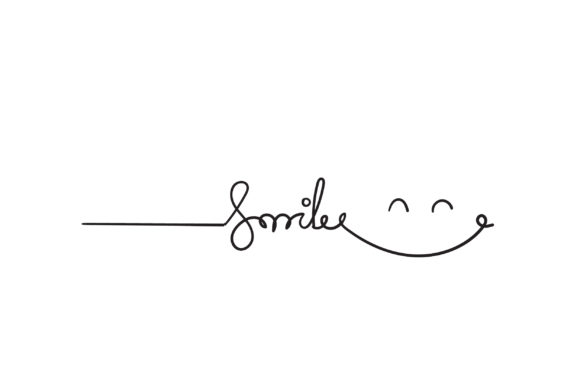Print on Demand: Doodle Smile Graphic Illustrations By GwensGraphicstudio
