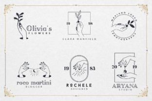 Print on Demand: 50 Mystic Logo Templates Graphic Logos By GraphicDash