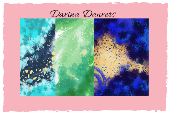 Print on Demand: Abstract Patterns 10 Pages #1 Graphic Patterns By Davina Danvers