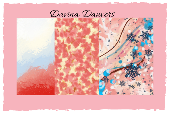 Print on Demand: Abstract Patterns 10 Pages #3 Graphic Patterns By Davina Danvers