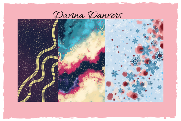 Print on Demand: Abstract Patterns 10 Pages #4 Graphic Patterns By Davina Danvers