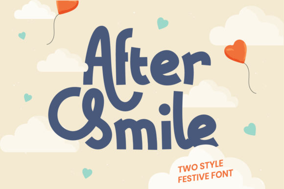 Print on Demand: After Smile Display Font By Helotype