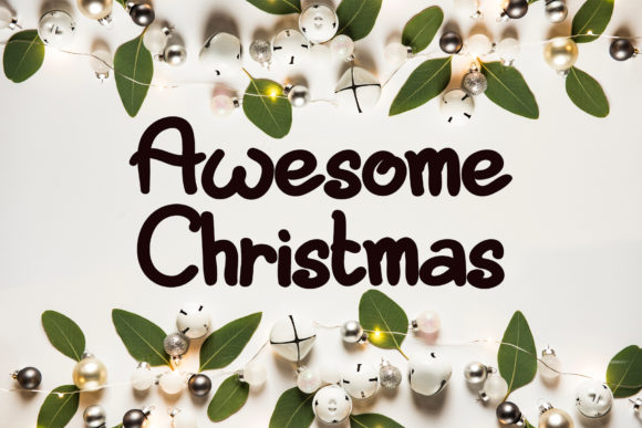 Print on Demand: Awesome Christmas Script & Handwritten Font By Ansart