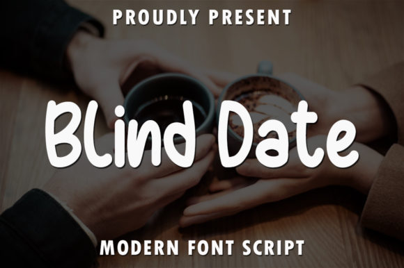 Print on Demand: Blind Date Script & Handwritten Font By rangkaiaksara