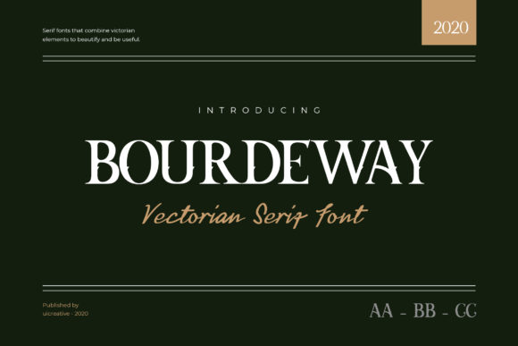 Print on Demand: Bourdeway Slab Serif Font By uicreativenet