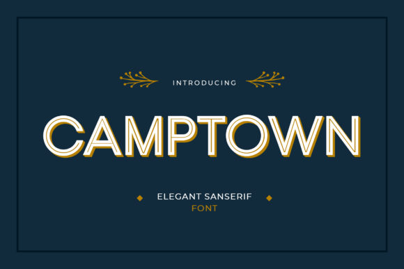 Print on Demand: Camptown Sans Serif Font By uicreativenet