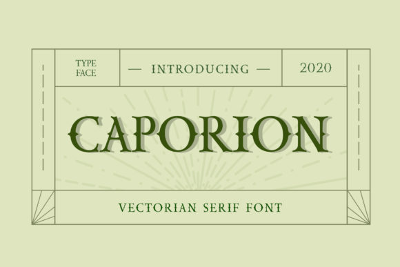 Print on Demand: Caporion Blackletter Font By uicreativenet