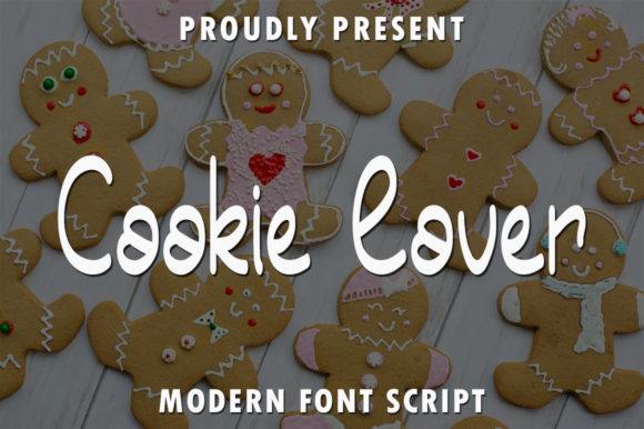 Print on Demand: Cookie Lover Script & Handwritten Font By rangkaiaksara