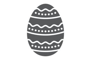 Easter Egg Glyph Icon Graphic Icons By Fox Design