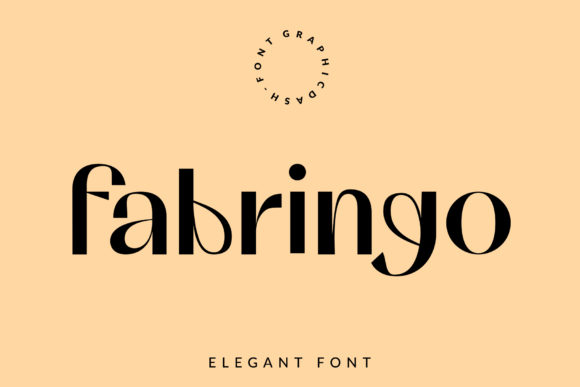 Print on Demand: Fabringo Serif Font By GraphicDash