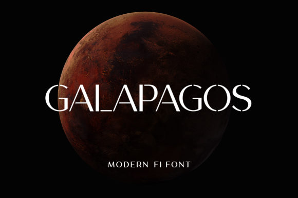 Print on Demand: Galapagos Sans Serif Font By uicreativenet