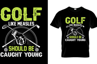 Print on Demand: Golf Like Meales T Shirt Design Vector Graphic Print Templates By merchbundle