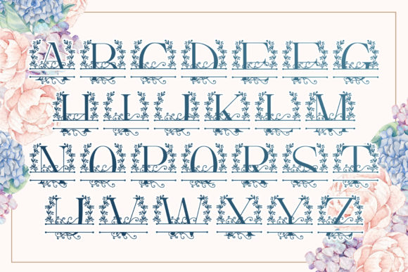 Handdrawn Vine Font Preview