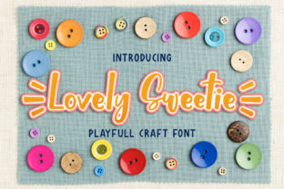 Print on Demand: Lovely Sweetie Display Font By almarkhatype