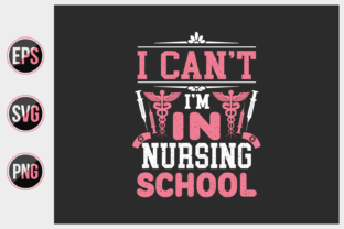 Print on Demand: Nurse Typographic Slogan Design Vector. Graphic Print Templates By ajgortee