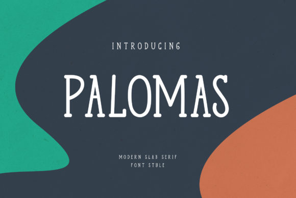 Print on Demand: Palomas Slab Serif Font By uicreativenet