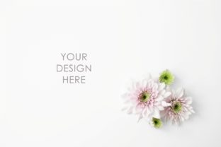 Pink Flowers Styled Stock Photo Graphic Arts & Entertainment By thesundaychic