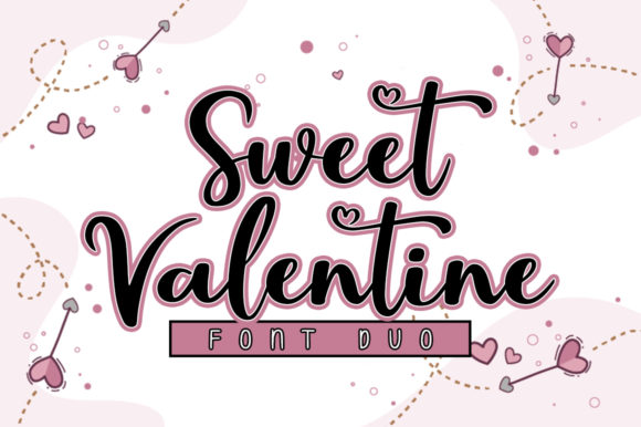 Print on Demand: Sweet Valentine Script & Handwritten Font By Nirmala Creative
