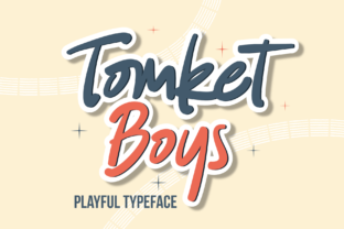 Print on Demand: Tomket Boys Script & Handwritten Font By DUMADI