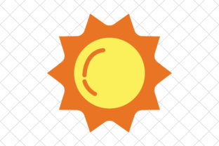 Print on Demand: Sun Graphic Icons By hinad4467