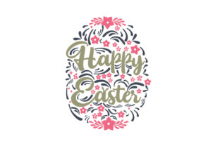 Happy Easter Easter Craft Cut File By Creative Fabrica Crafts 1