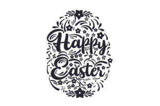 Happy Easter Easter Craft Cut File By Creative Fabrica Crafts 2
