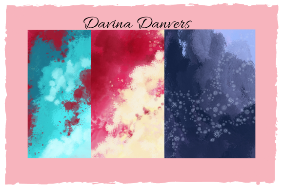 Print on Demand: Abstract Patterns 10 Pages #5 Graphic Patterns By Davina Danvers